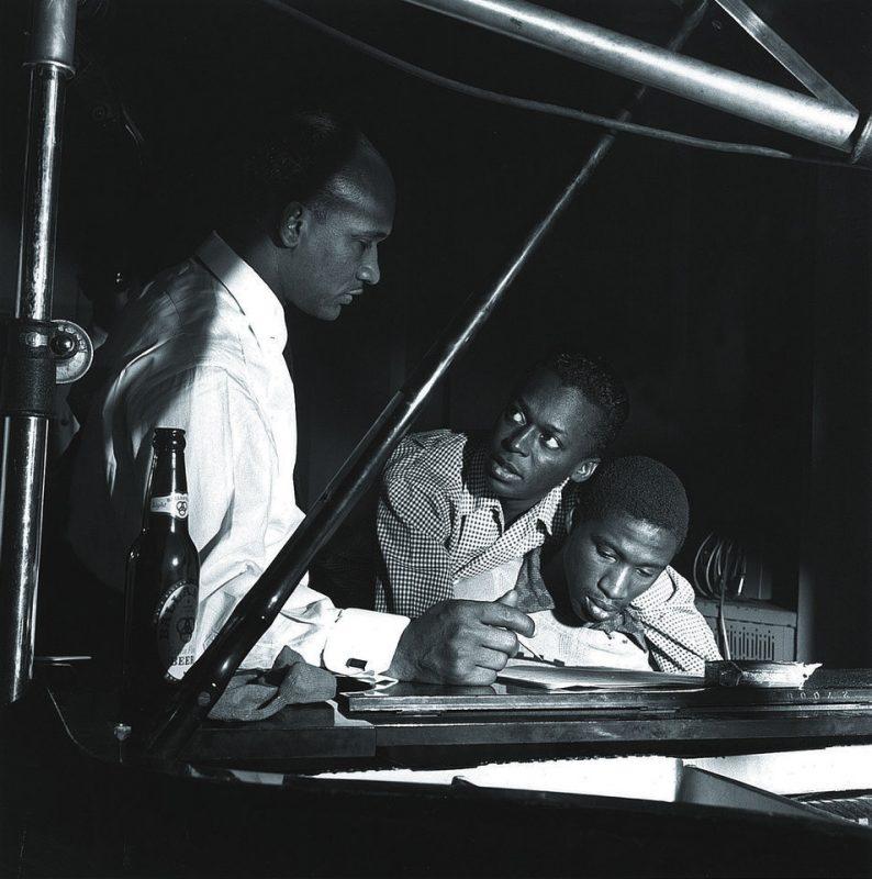With Oscar Pettiford & Gil Coggins, WOR Studios, New York, NY 1953
