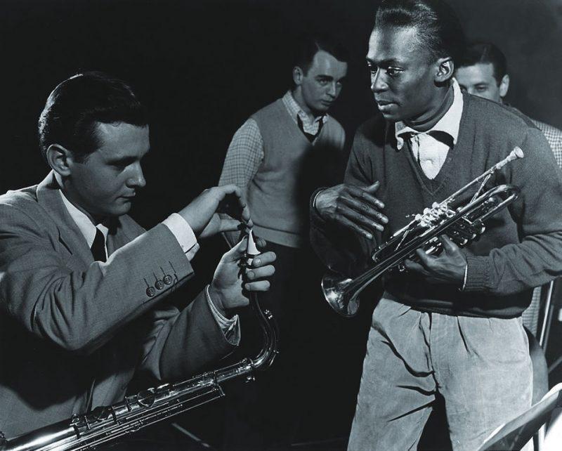 With Stan Getz & Ralph Burns, New York, NY 1951