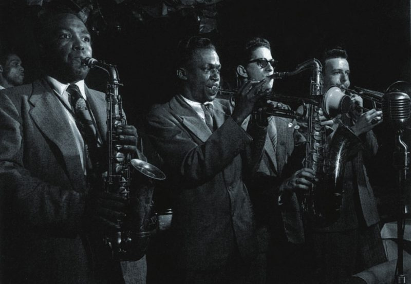 With Charlie Parker, Allen Eager & Kai Winding, The Royal Roost, New York, NY 1948