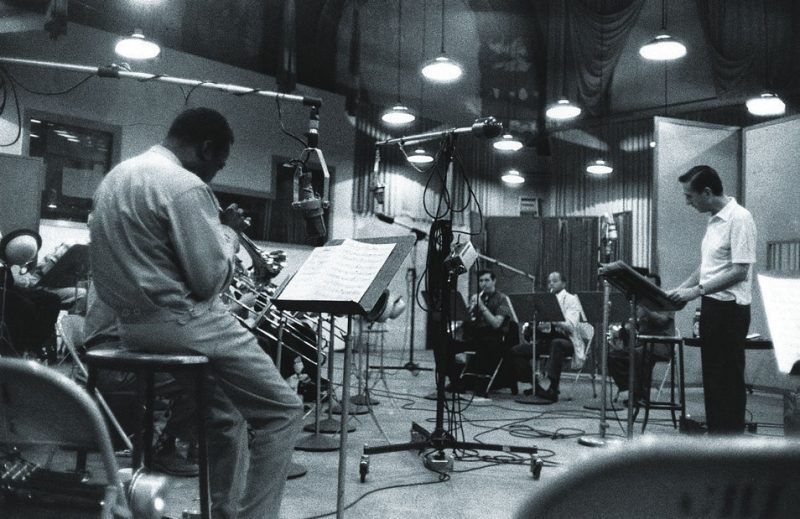 With Gil Evans, New York, NY 1958