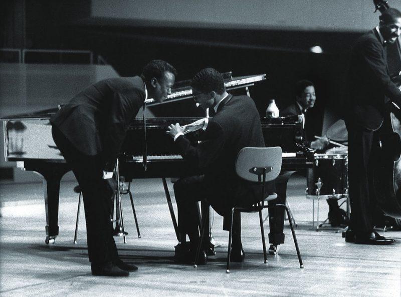 With Herbie Hancock, Tony Williams & Ron Carter, Berlin, Germany 1964