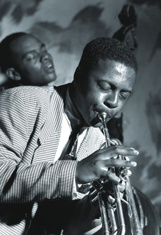 Tyler Mitchell and Roy Hargrove, New York City 1992