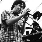 Gerard Presencer at the Appleby Jazz Festival, Appleby, England 1998 image 0