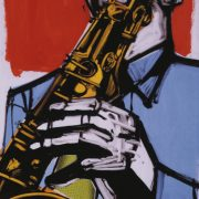 illustration of Hank Mobley image 0