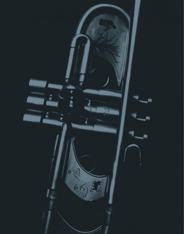 Wynton Marsalis' trumpet