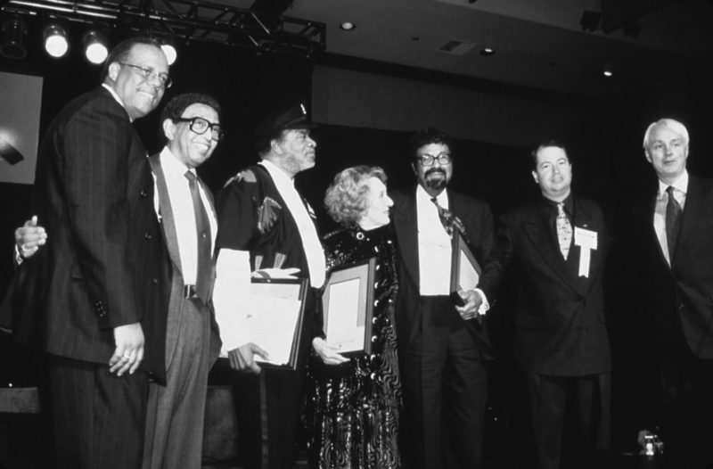 The National Endowment for the Arts presents its American Jazz Masters Awards to David Baker, Marian McPartland and Dr. Donald Byrd at the 2000 IAJE Conference