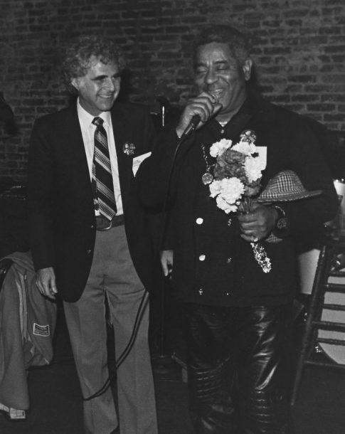 JazzTimes founder Ira Sabin with Dizzy Gillespie