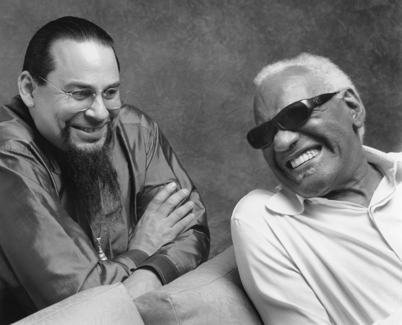 Steve Turre and Ray Charles
