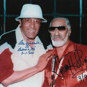 Newk meets Newk; Don Newcombe with Sonny Rollins image 0