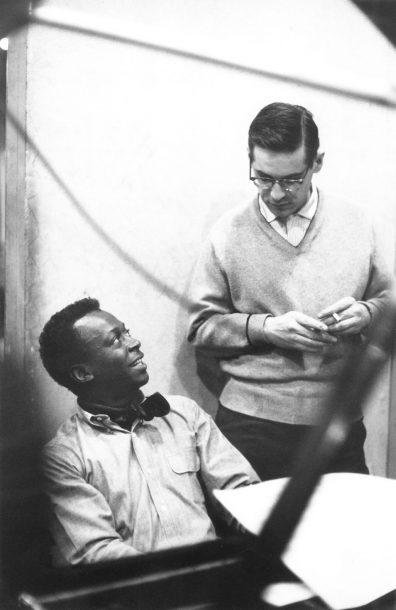 Miles Davis and Bill Evans