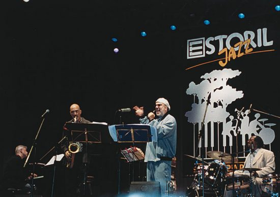 Michael and Randy Brecker at the 2001 Estoril Jazz Festival image 0