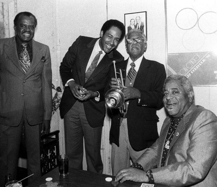 Stanley Turrentine, Jon Faddis, Roy Eldridge and Dizzy Gillespie