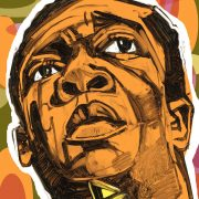 illustration of John Coltrane image 0