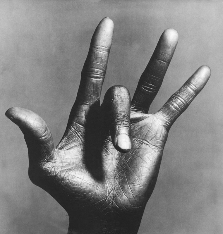 Miles Davis' hand