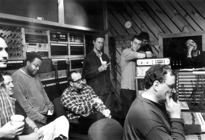 Elvis Costello in the studio with the Mingus Big Band