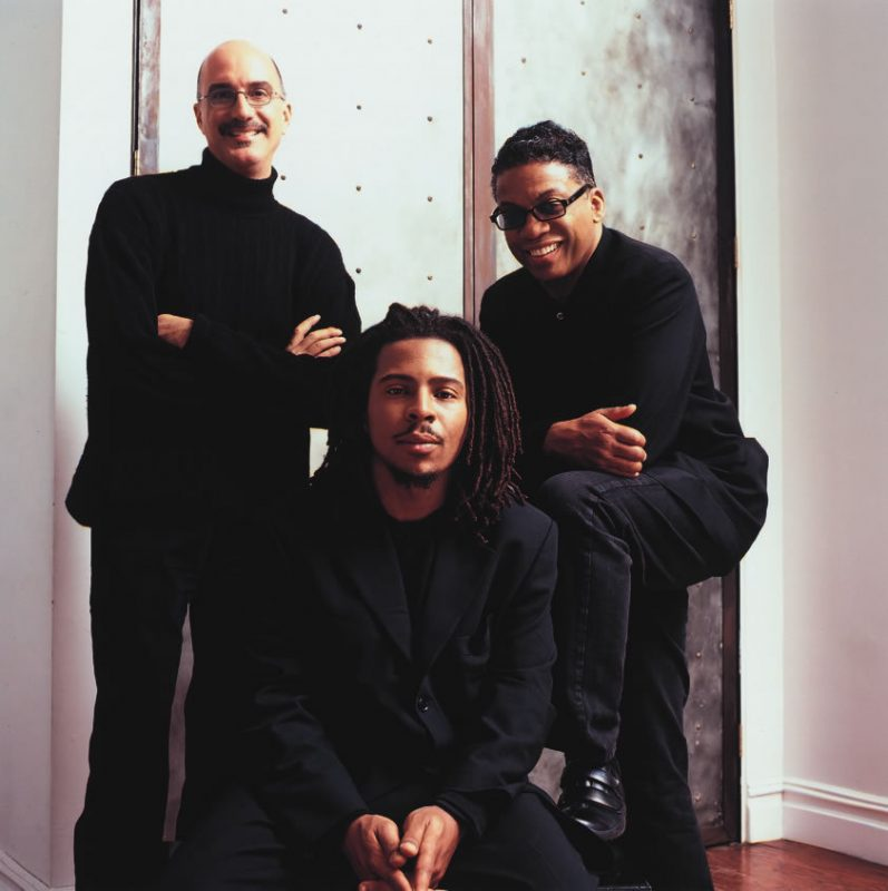 Directions in Music (L to R): Michael Brecker, Roy Hargrove, Herbie Hancock