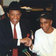Lionel Hampton with Stefon Harris image 0