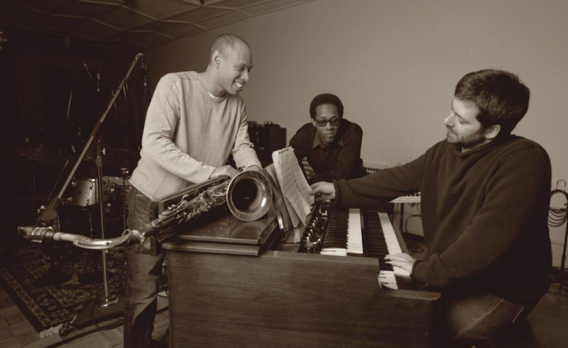 (Left to Right:) Joshua Redman, Brian Blade & Sam Yahel