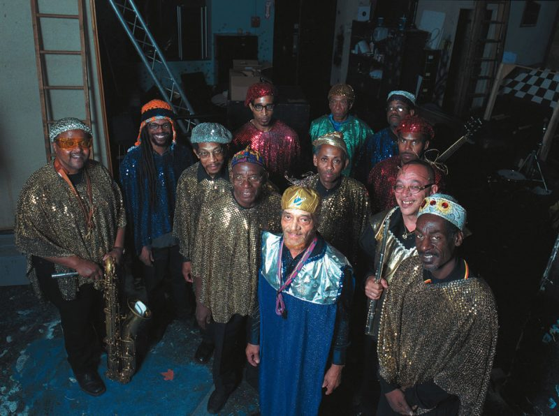 Sun Ra Arkestra, appearing at October Revolution