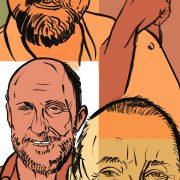 illustration of ScoLoHoFo (Clockwise: Joe Lovano, Al Foster, Dave Holland, John Scofield) image 0