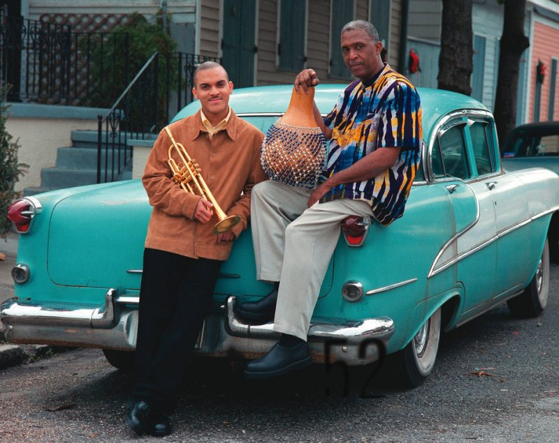 Los Hombres Calientes: Irvin Mayfield and Bill Summers