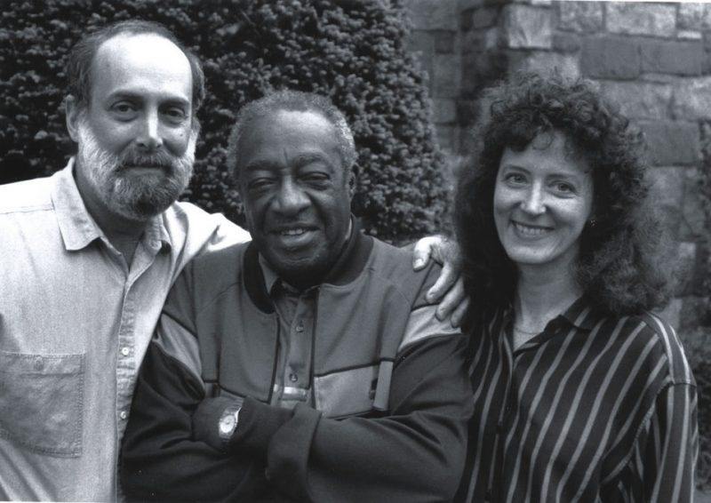 David G. Berger, Milt Hinton and Holly Maxson, Queens, N.Y., 1989