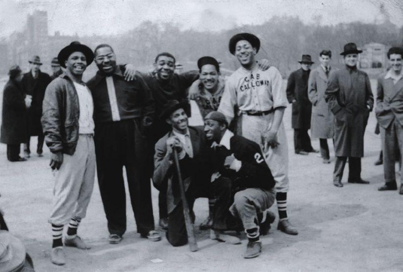 Dizzy and Cab Calloway baseball team