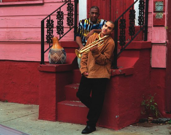 Los Hombres Calientes: Bill Summers (left), Irvin Mayfield (right) image 0