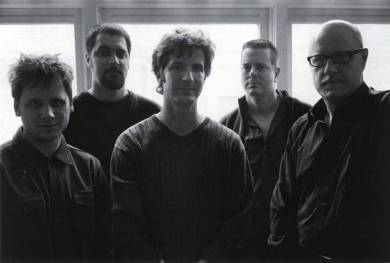 The Vandermark 5 (L-R): Tim Daisy, Dave Rempis, Jeb Bishop, Ken Vandermark, Kent Kessler