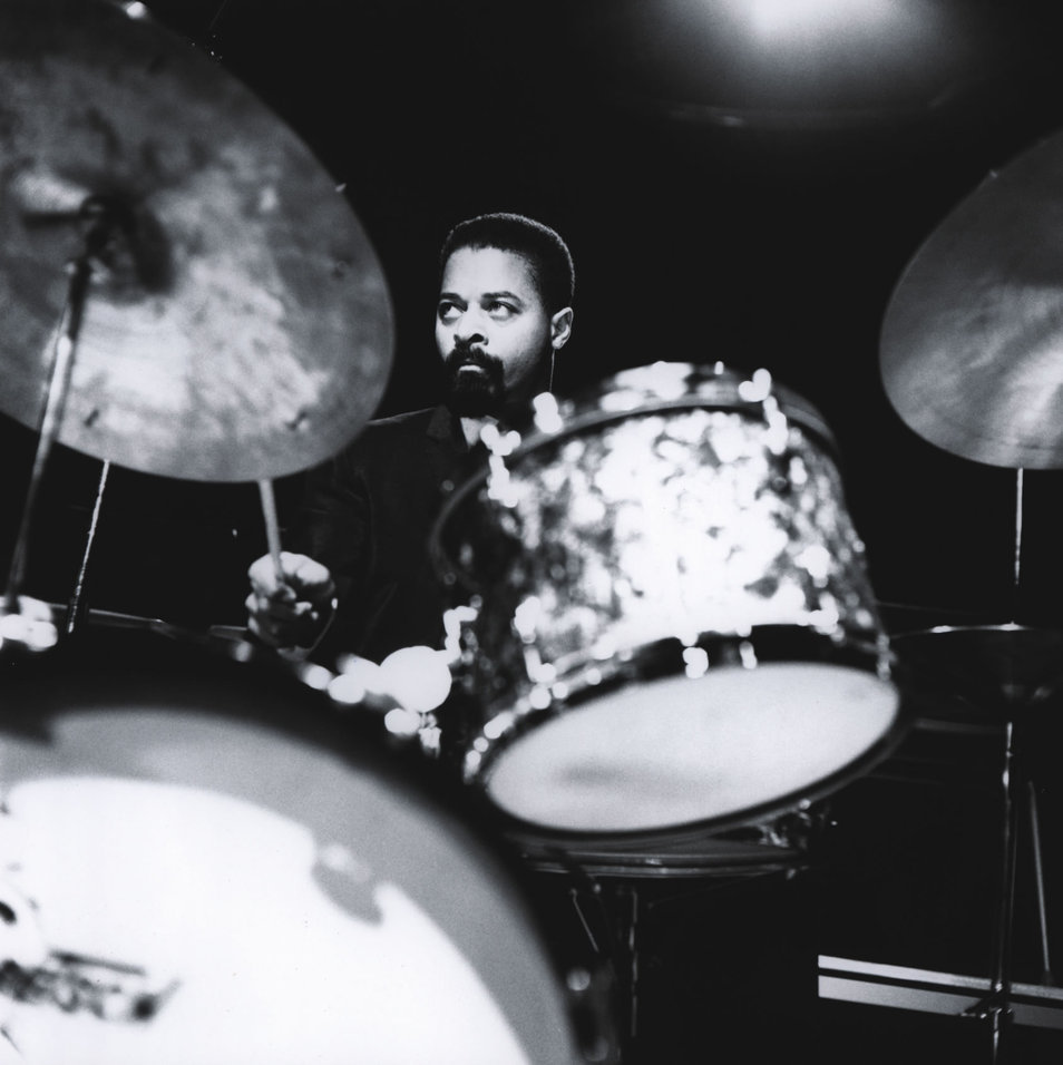 Jimmy Cobb playing with Miles Davis in the late 1950s