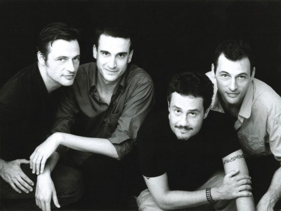 From left: François Moutin, Baptiste Trotignon, Rick Margitza and Louis Moutin image 0