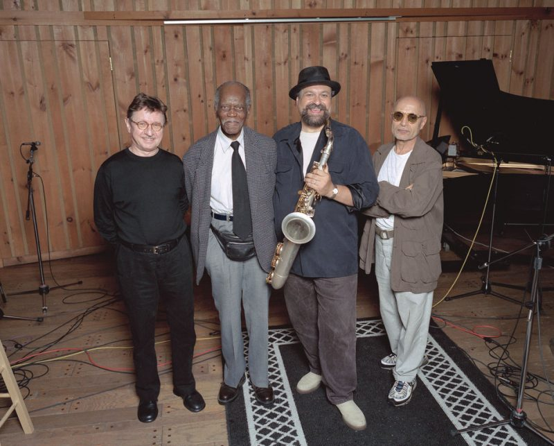 George Mraz, Hank Jones, Joe Lovano and Paul Motian