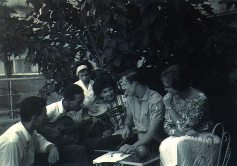 Buddy Deppenschmidt and friends, Brazil, 1961