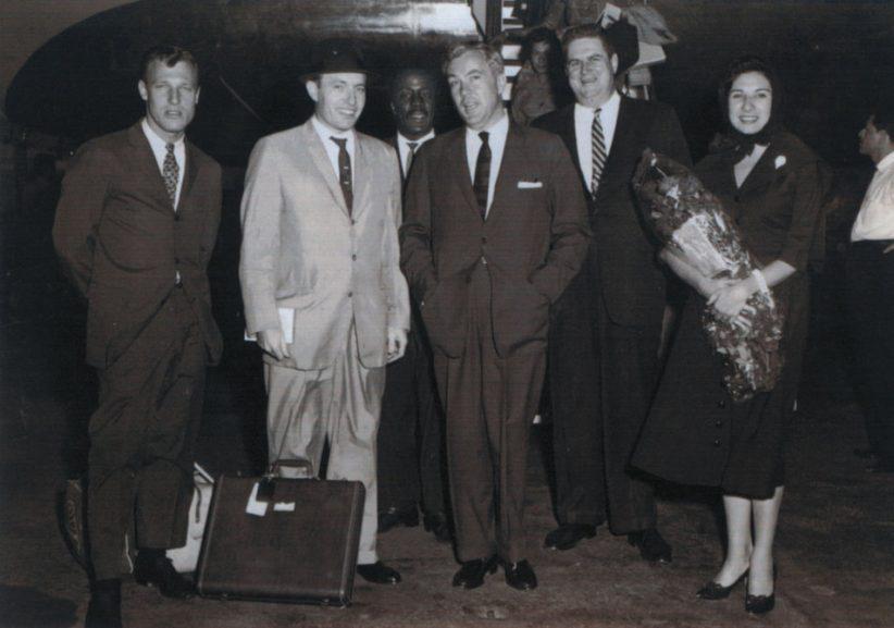 The Charlie Byrd Trio, Mexico City, June 2, 1961