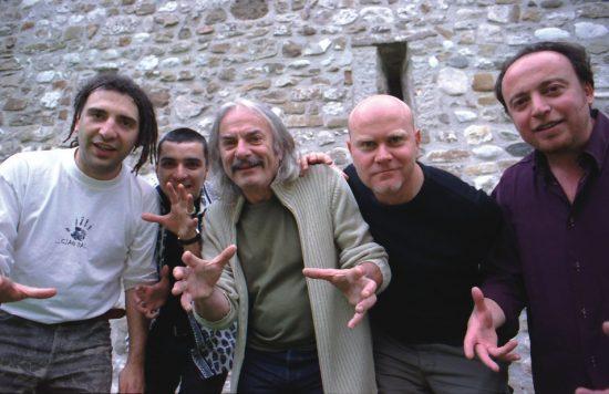 Enrico Rava Quintet (L to R): Stefano Bollani, Gianluce Petrella, Rava, Roberto Gatto, Rosario Bonaccorso image 0
