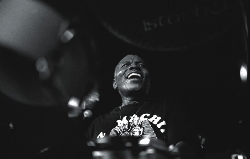 Elvin Jones at the Metropolis Club, New York City, Oct. 9, 1994