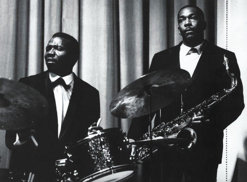 Elvin Jones with Coltrane in Frankfurt, Germany, 1963