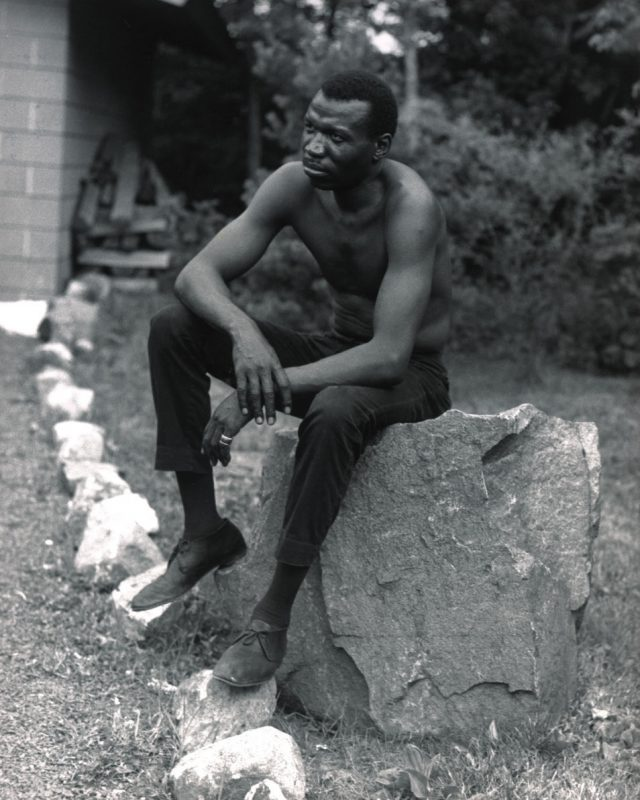 Elvin Jones outside the studio after the first take of Ascension, June 28, 1965