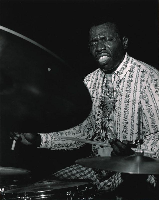 Elvin Jones at the Village Vanguard, New York City, 1971