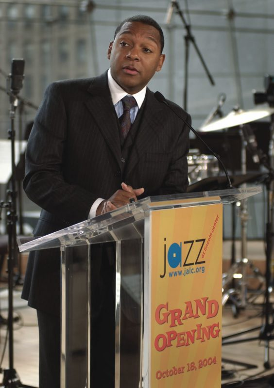 Wynton Marsalis at JALC Grand Opening