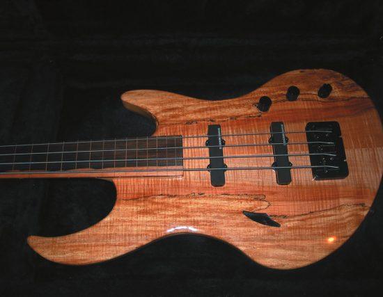 B. Bo ButterBass Fretless Bass Guitar image 0