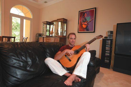 Russ Freeman at home in Boca Raton, Fla image 0