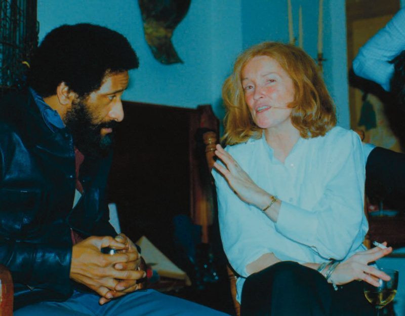 Sonny Rollins and Sue Mingus in the Mingus home