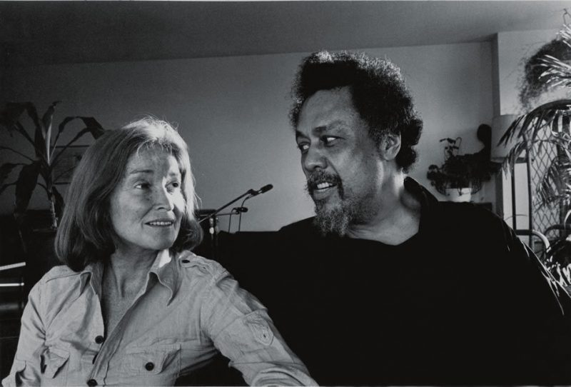 Charles Mingus and his wife Sue at home