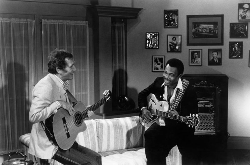 George Benson performs with Chet Atkins on TNN circa 1982.