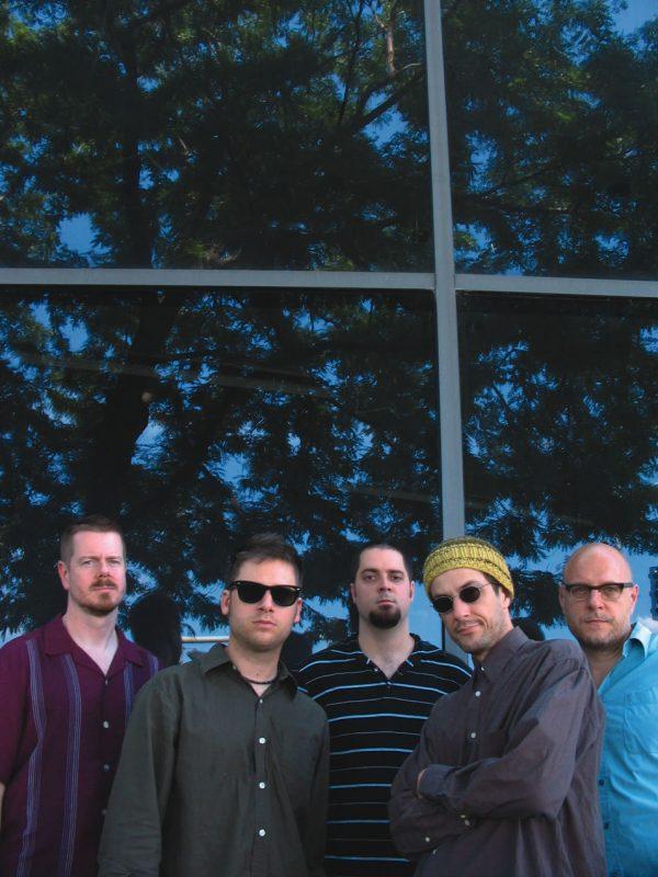 The Vandermark 5: Ken Vandermark, Tim Daisy, Dave Rempis, Fred Lonberg-Holm and Kent Kessler