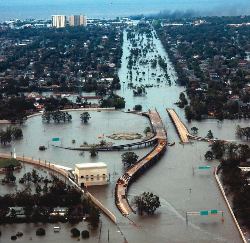 New Orleans after Hurricane Katrina