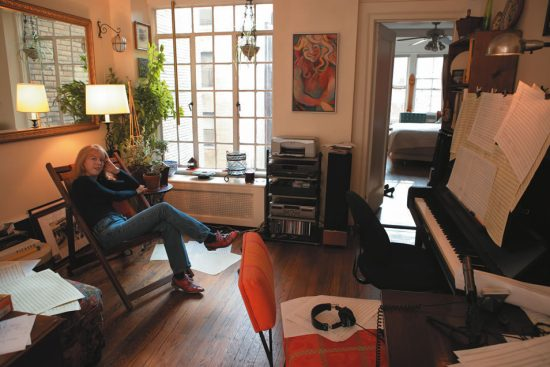 Maria Schneider at home image 0