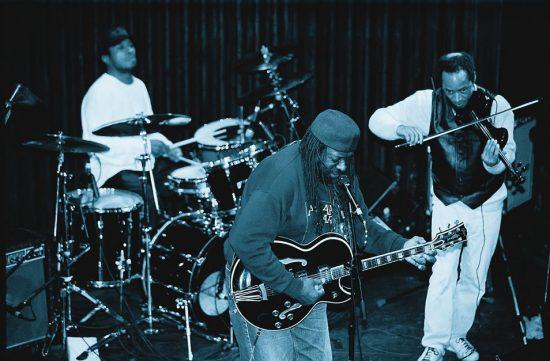 "Odyssey the Band: Warren Benbow, James ""Blood"" Ulmer, Charles Burnham image 0"