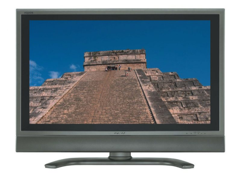 Sharp Aquos high-definition television
